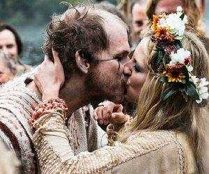vikings, wedding, and floki image