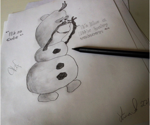 disney, draw, and drawing image