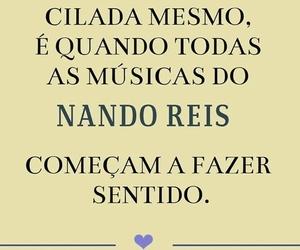 amor, musica, and nando reis image