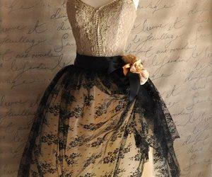 dress, goth, and gothic lolita image