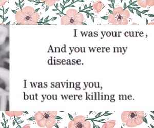 love, quote, and disease image