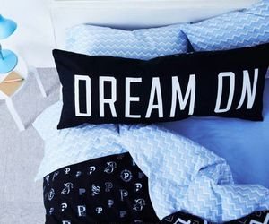 blue, Dream, and bed image