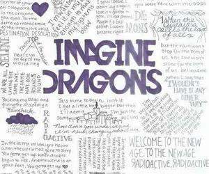 imagine dragons, music, and Lyrics image