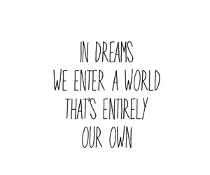 quote, Dream, and tumblr image