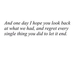 quotes, sad, and regret image