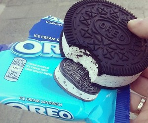 oreo, food, and ice cream image