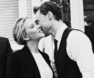 tom hiddleston, Scarlett Johansson, and loki image