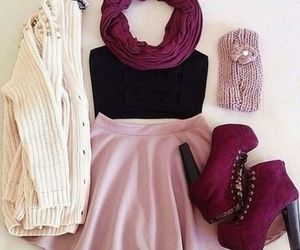 classy, pink, and shoes image