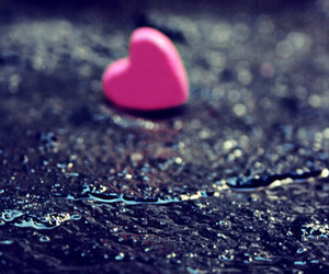 heart, love, and alone image