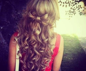 blonde, curled, and curls image
