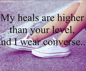 converse, higher, and fashion image
