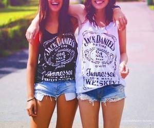 friends, jack daniels, and best friends image