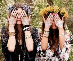bohemian, nature, and boho image