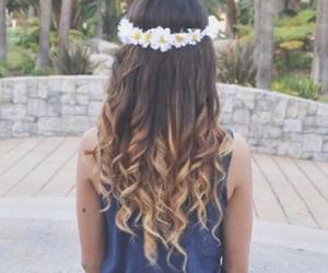 blonde, brunette, and crown image