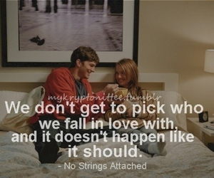 no strings attached and love image