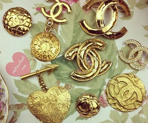 brooch, chanel, and vintage chanel image