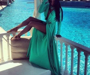 dress, luxury, and summer image
