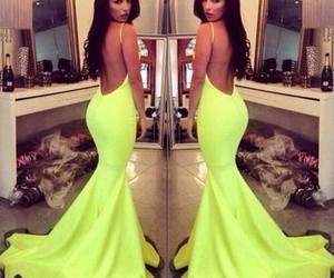 dress, fashion, and neon image