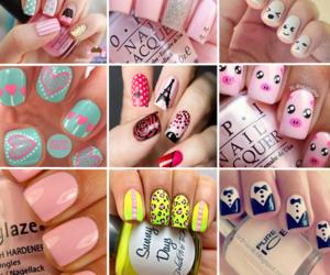 design, nail, and nail art image