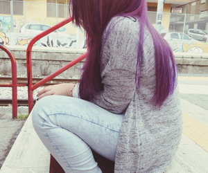 blue, pastel, and purple image