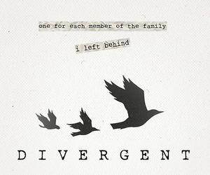 divergent, tris, and book image