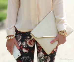 fashion, bag, and hair image