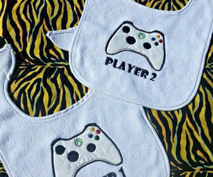 baby, players, and xbox image