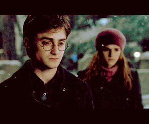 daniel radcliffe, harry & hermione, and emma image