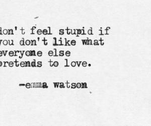 quotes, emma watson, and stupid image
