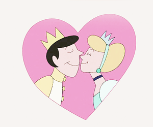cinderella, kiss, and cute image