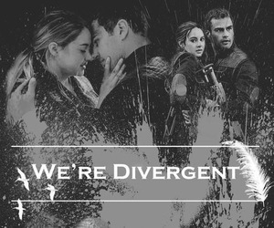 divergent, four, and tris image