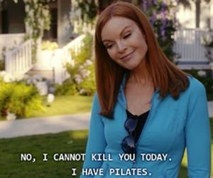 Desperate Housewives, bree, and pilates image