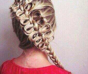 beautiful, hairdressing, and long image