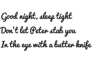 peter, divergent, and butter knife image