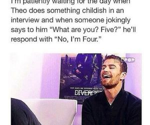 four, divergent, and funny image