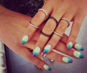 accesories, beauty, and manicure image