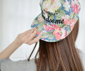 flowers, kfashion, and korean fashion image