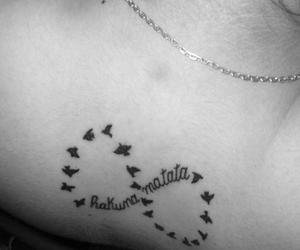 tattoo, hakuna, and matata image
