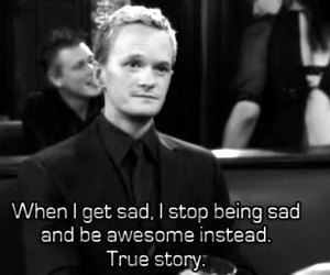 how i met your mother, barney, and subtitles image