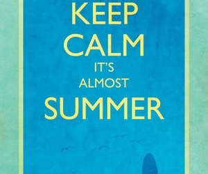 keep calm and summer image