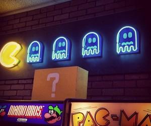 arcade, pac-man, and pinballz image