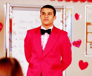 glee, jake puckerman, and gleekcaps image