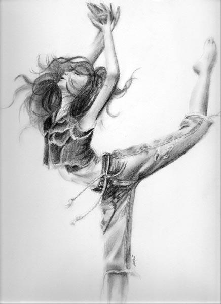 Ballet Dancer Drawing Google Search On We Heart It