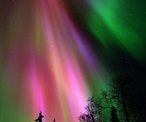 northern lights, photography, and aurora image