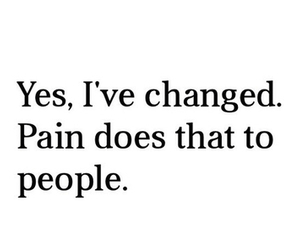 pain, quote, and people image