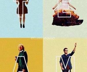 team, hunger games, and catching fire image
