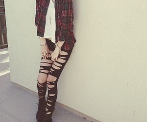 girl, style, and boots image