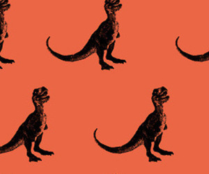 dinosaur, pattern, and print image