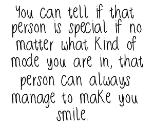 smile, special, and someone special image