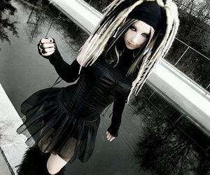 gothic, cyber, and goth image
